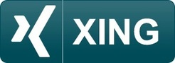 Logo of the Xing social and professional network